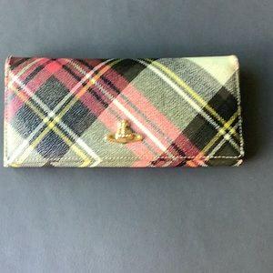 Vivienne Westwood Authentic Tartan Orb Wallet